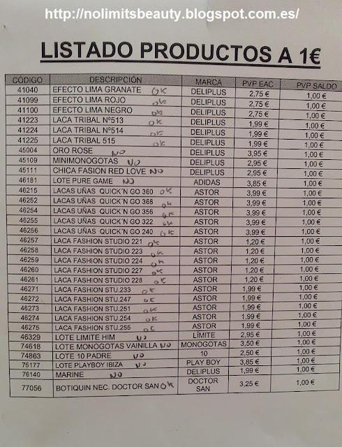 Liquidación Mercadona Junio 2013