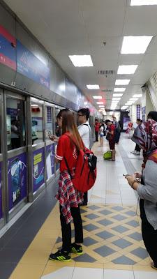 Metro de Kuala Lumpur -Malasia-