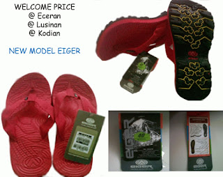 Kumpulan Informasi Sandals Eiger New Model