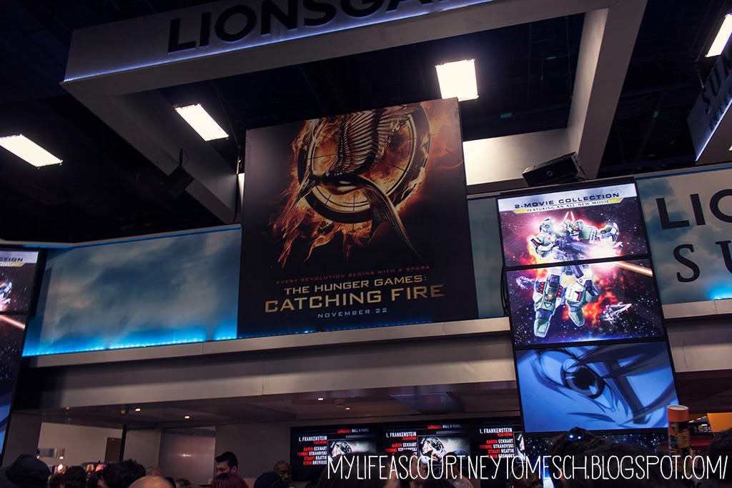 San Diego Comic Con 2013 The Hunger Games