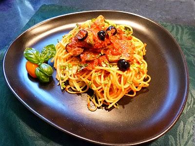 Spaghettis au thon