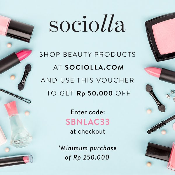 Get Your 50K OFF! for Shopping at Sociolla Here!