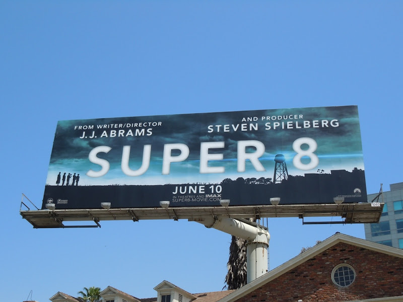 Super 8 movie billboard