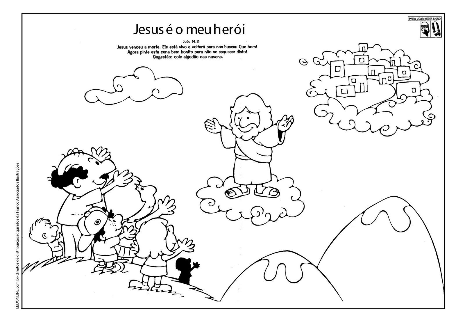 evangeliza atividades páscoa jesus morreu ressuscitou jesus é o