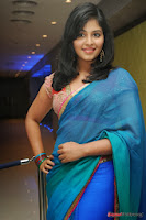 actress anjali hot saree photos at masala telugu movie audio launch+(6) Anjali Saree Photos at Masala Audio Launch