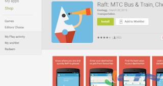 ராப்ட் கைபேசி செயலி(Raft Mobile App)