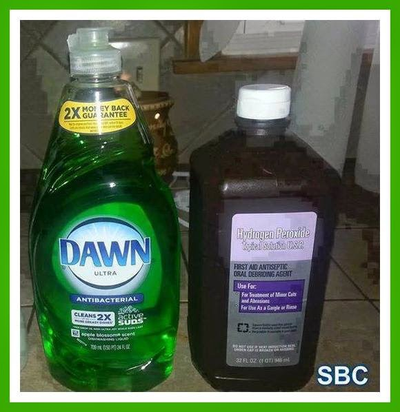 Fabulous frugalista diy stain remover - Unknown uses hydrogen peroxide ...