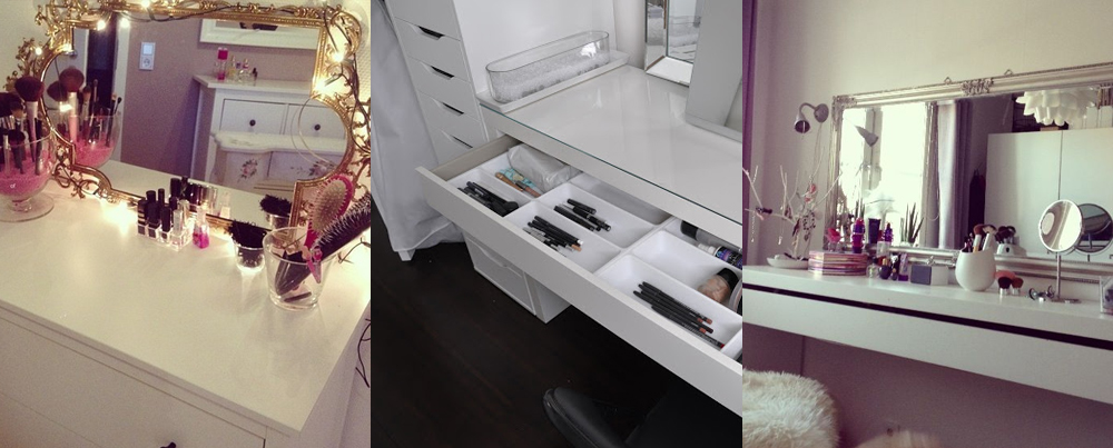 Zimmer neugestalten inspirationen beauty palmira for Schminktisch modern klein