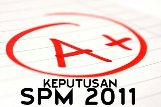 Laporan keputusan SPM 2011