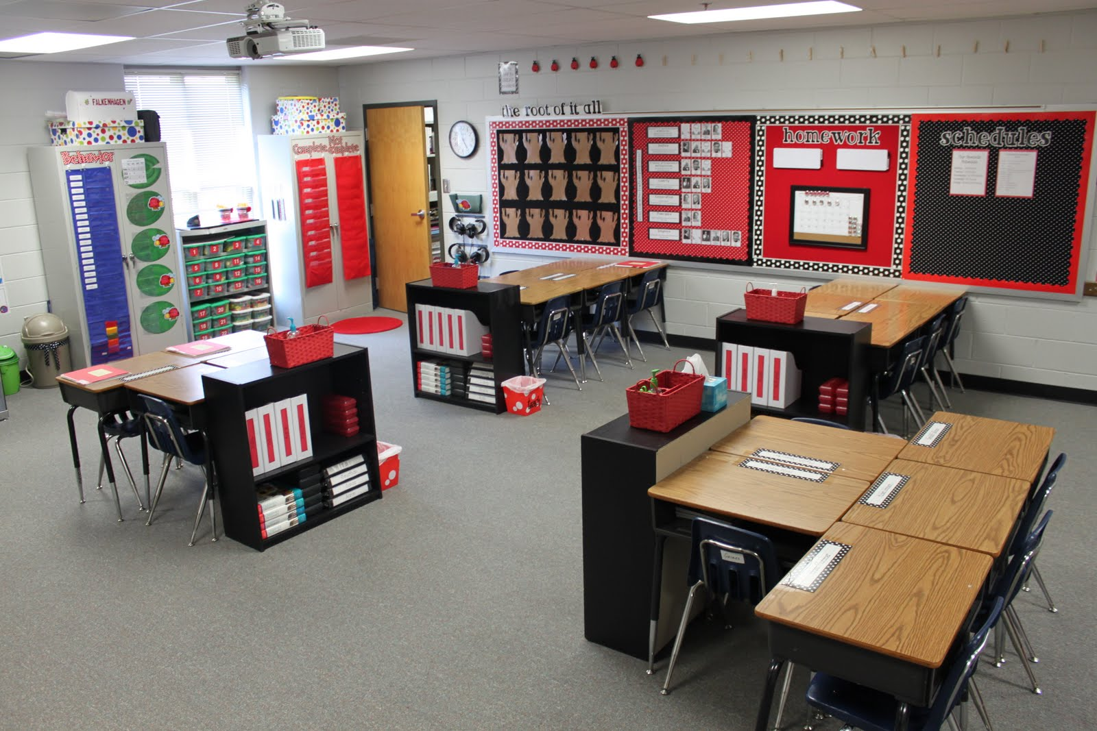 Classroom Workstation Ideas ~ Dandelions and dragonflies finally my classroom reveal
