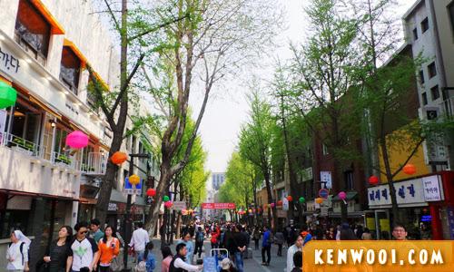 seoul insadong market