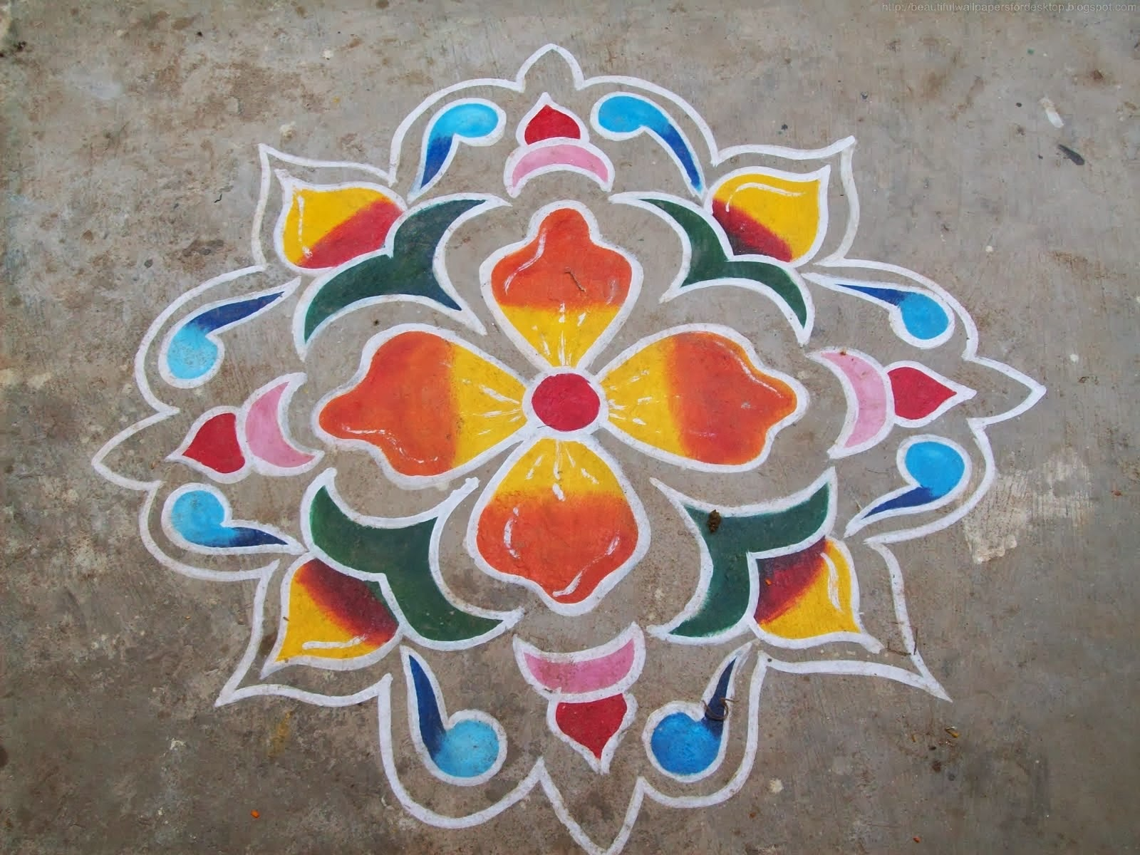 rangoli designs wallpaper stars - photo #6