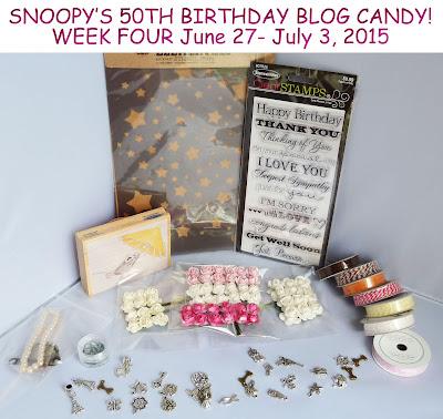June 27-July 3 Birthday candy