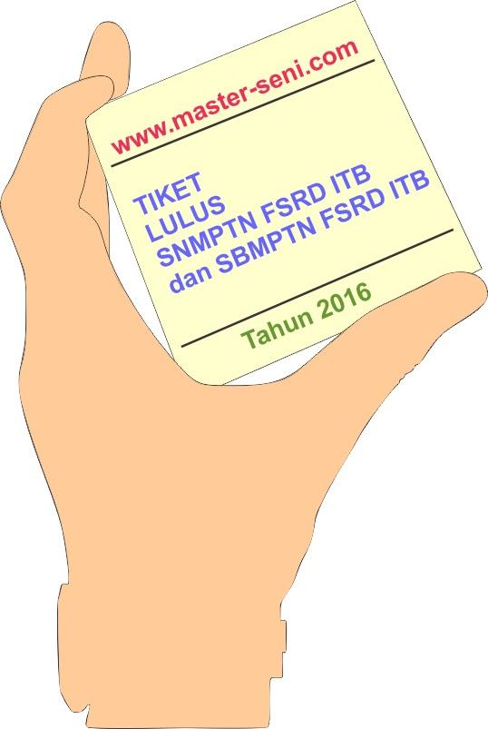 Bagaimana Pengemasan Portofolio SNMPTN FSRD ITB 2016 yang Benar ?