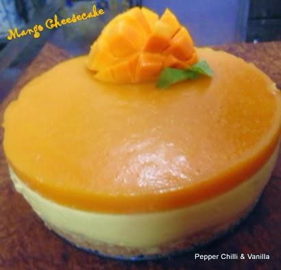 Mango glaze til kage
