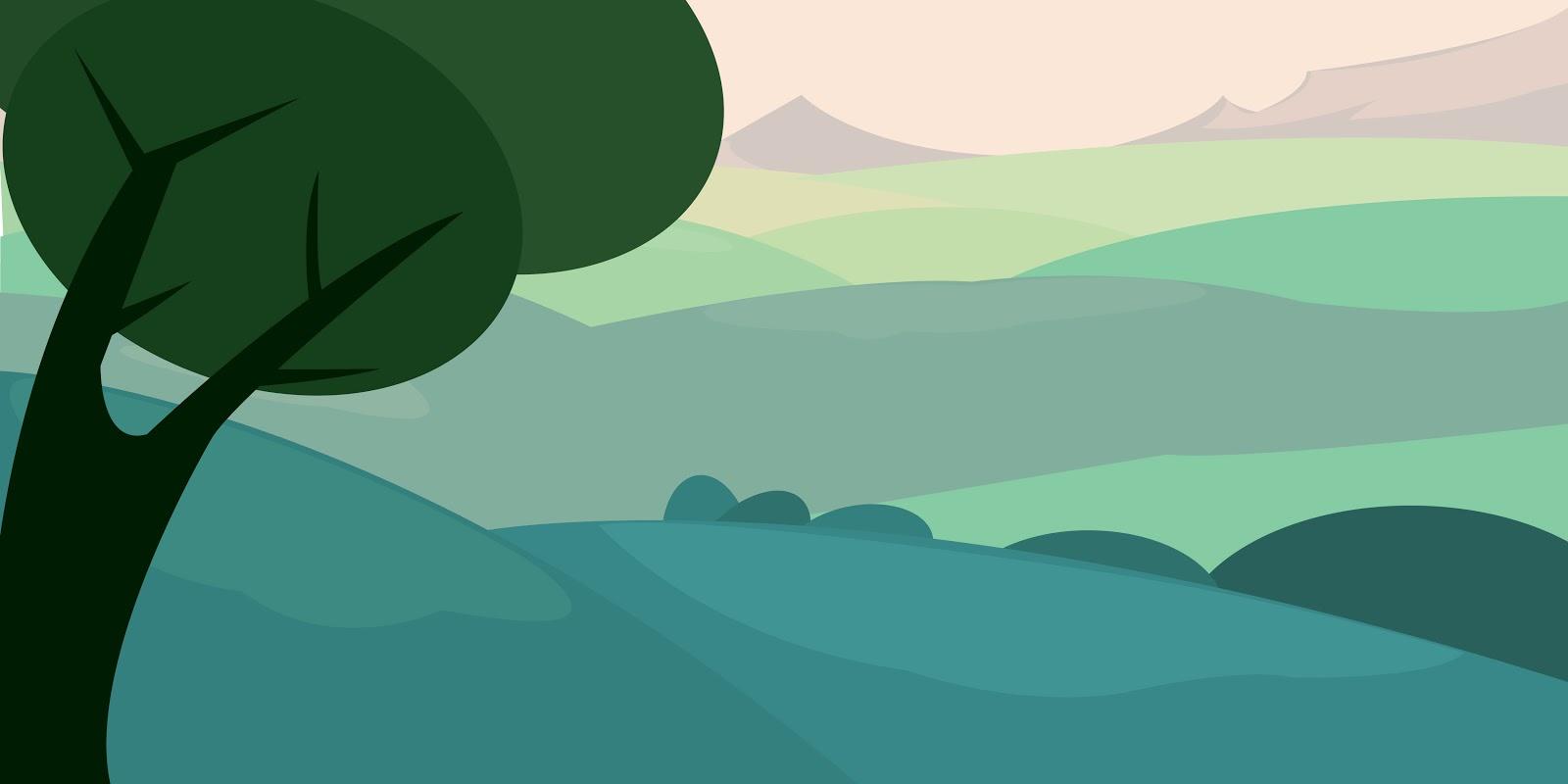 cartoon landscape clipart - photo #49