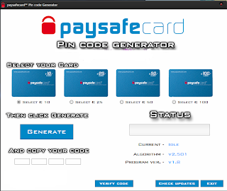 paysafecard values