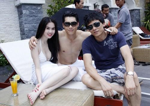 Ngọc Trinh đóng phim với cảnh quay nóng bỏng