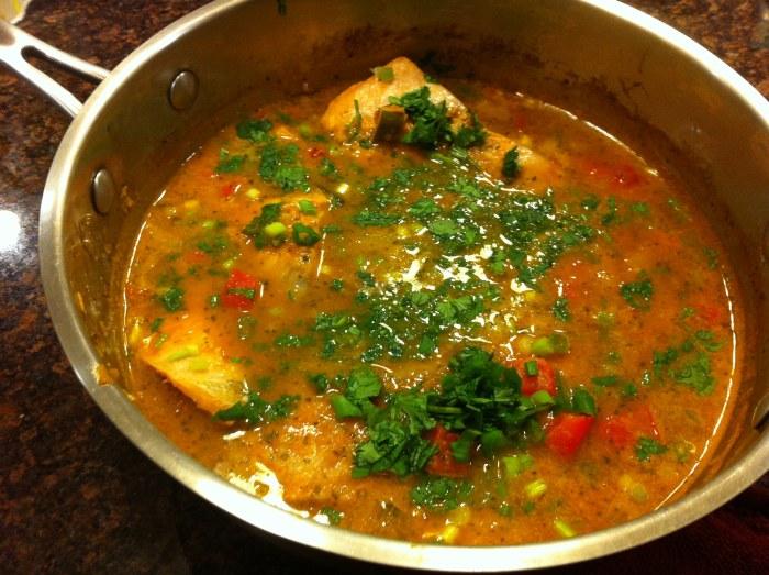 Salmon Fish Stew, Brazilian Style Recipe — Dishmaps