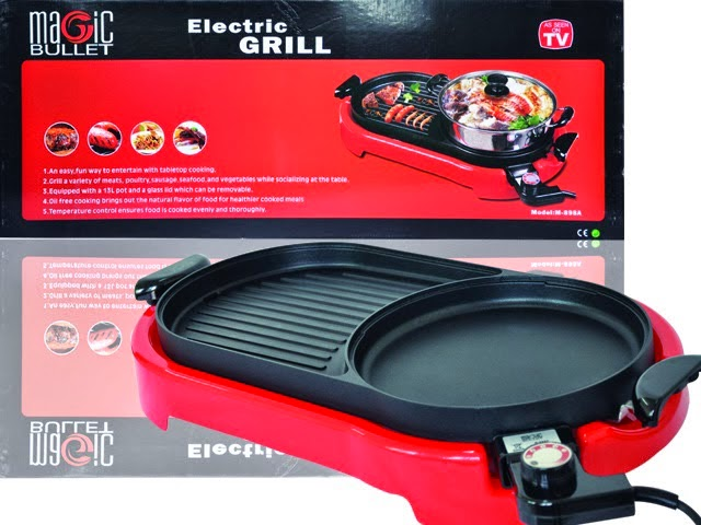 Steamboat and Grill 2 in 1 MURAH