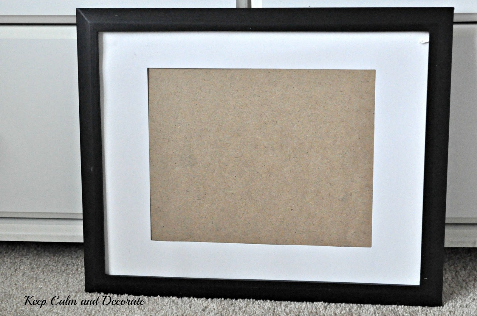 Keep Calm and Decorate: Updating Dollar Store Frames
