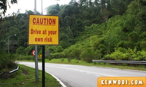 drive at your own risk