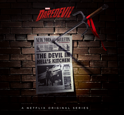 San Diego Comic-Con 2015 First Look: Marvel's Daredevil Season 2 Elektra Teaser Television Poster