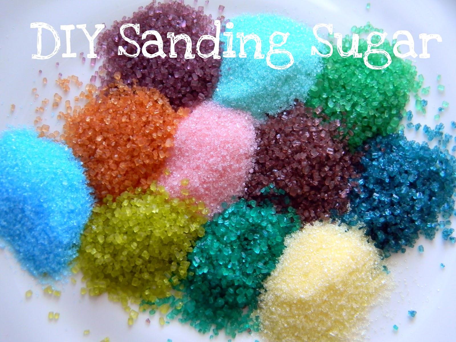 Sour Sanding Sugar Recipe
