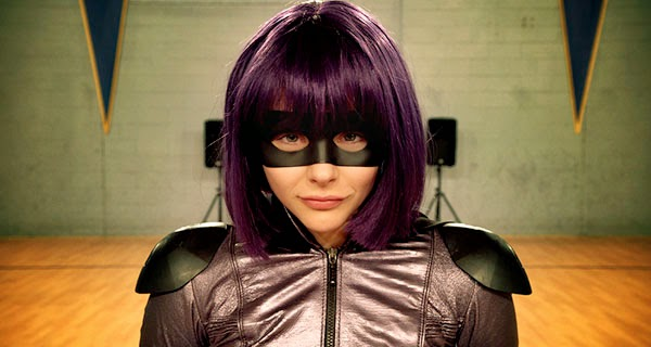 Chloe Moretz como Hit-Girl en Kick-Ass 2