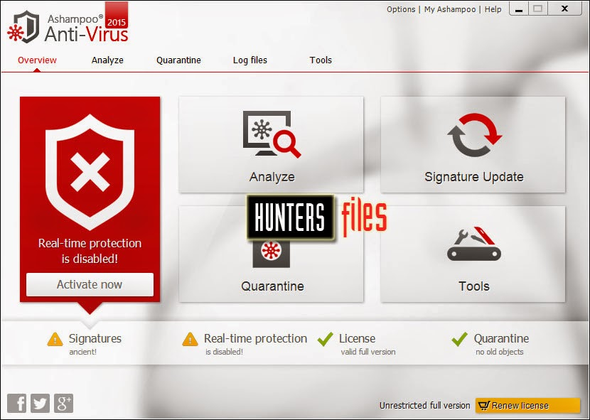 Ashampoo Anti-Virus 2015 v1.2.0 Full Crack