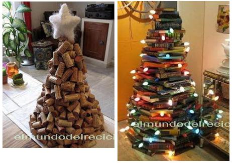Rboles de navidad - Arbol de navidad con libros ...
