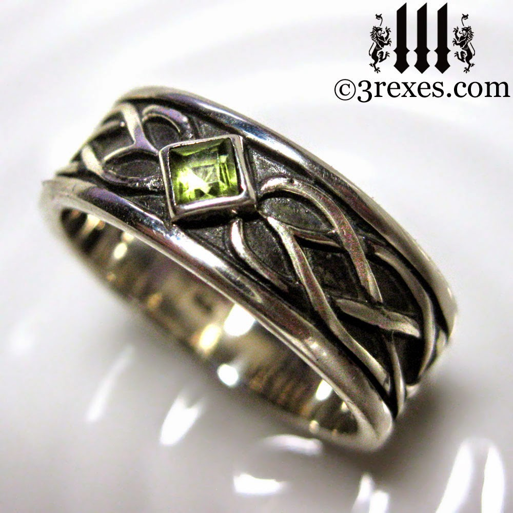 3 REXES JEWELRY Celtic Knot Silver Soul Ring
