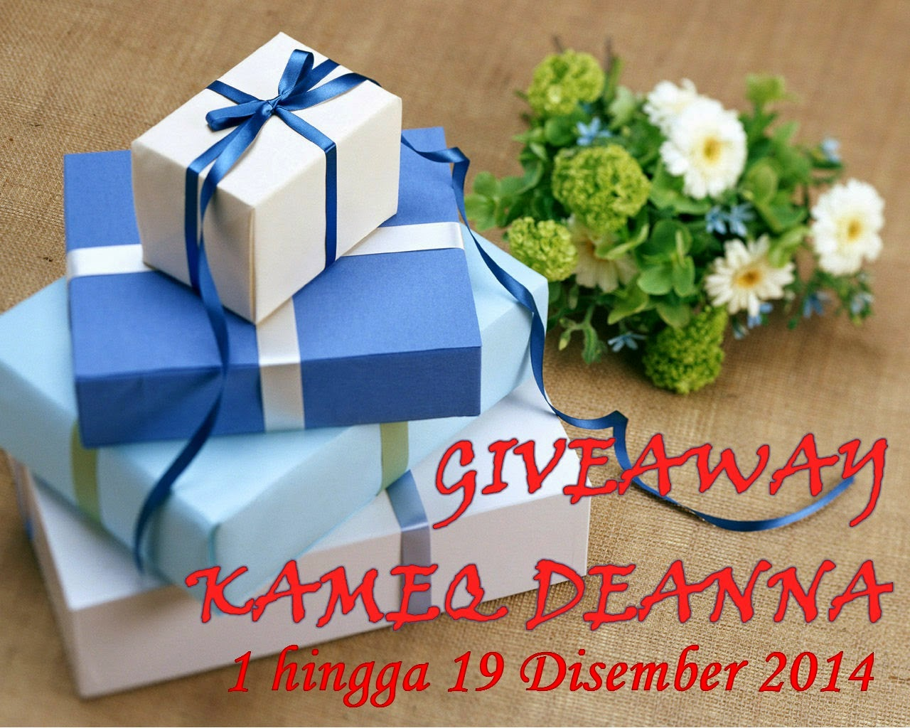 giveaway kameq deanna