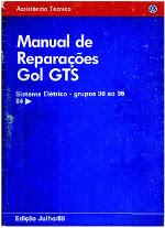 MANUAL DE REPARAÇÕES GOL GTS (SISTEMA ELÉTRICO)