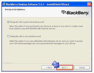 Install Desktop Manager Untuk BlackBerry