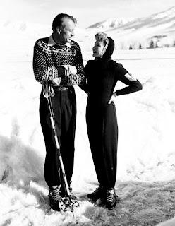 Gary Cooper en la nieve