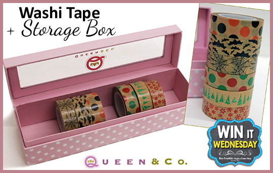 WIN-IT-WEDNESDAY Facebook Prize - Washi Tape and Box