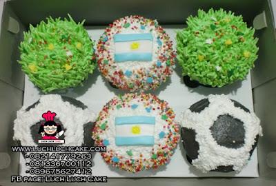 Cupcake Buttercream Bola Argentina