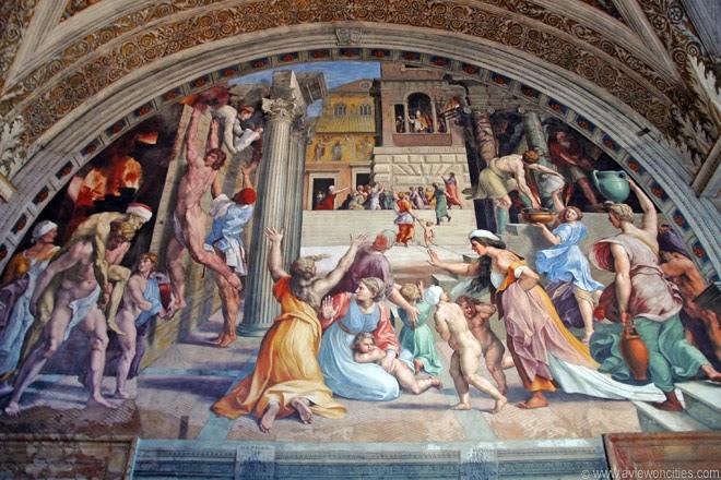 Fresco-in-Stanze-di-Raffaello-Raphael's-Room