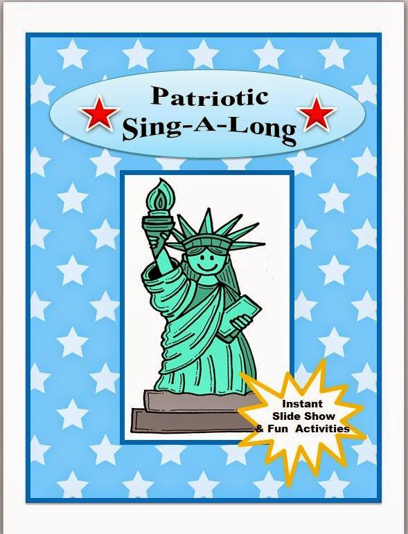 https://www.teacherspayteachers.com/Product/Music-Lesson-Patriotic-Sing-A-Long-1391953