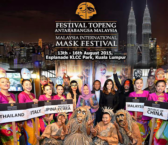 Festival Topeng Antarabangsa Malaysia 2015
