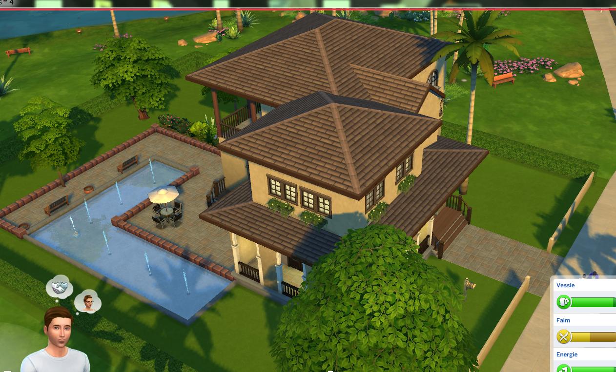 Et si vous visitiez une maison dans les sims 4 for Construire une maison les sims 3