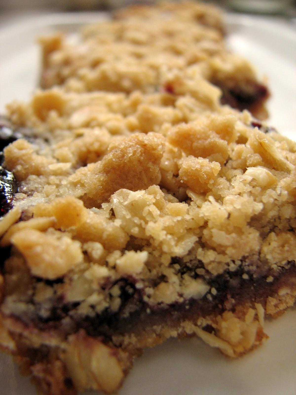 Ashleigh's Kitchen: Black Raspberry Oat Bars
