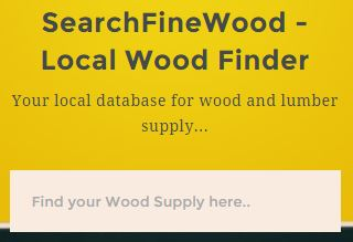 find your local lumber and wood supplier