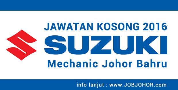 Jawatan Kosong Mechanic Suzuki Assemblers di Johor Bahru