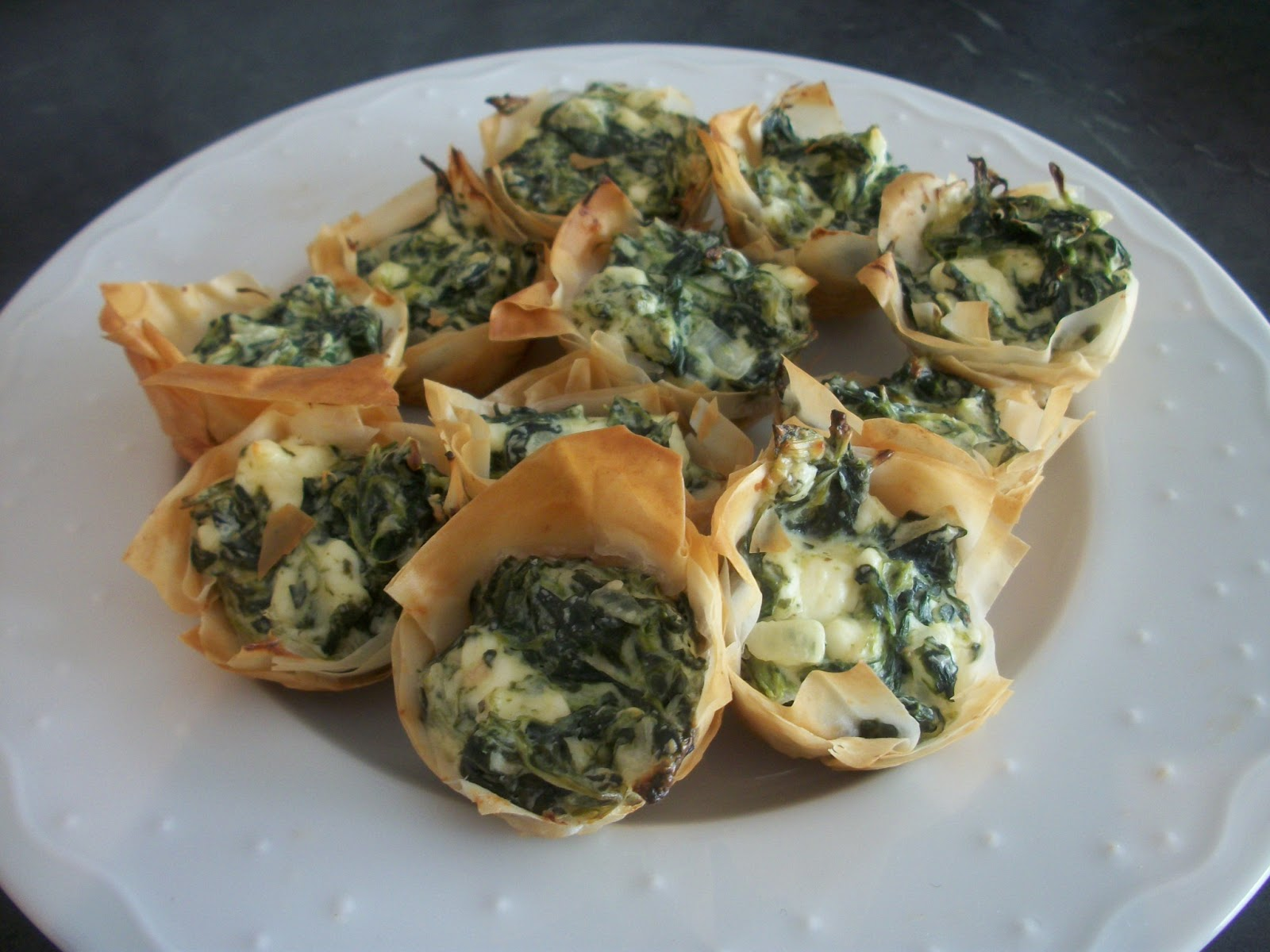 Cook with Sara: Spanakopita Bites