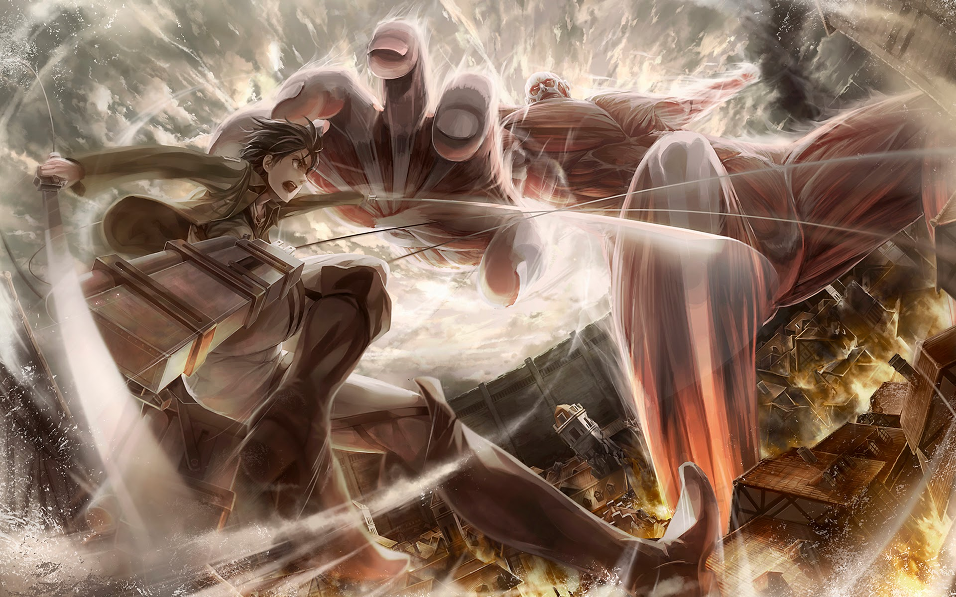 1456 Attack On Titan HD Wallpapers