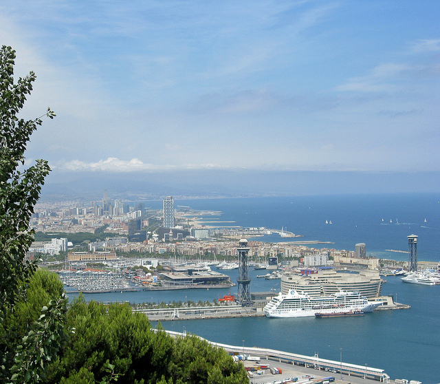Running Routes: Barcelona Montjuic Running Route