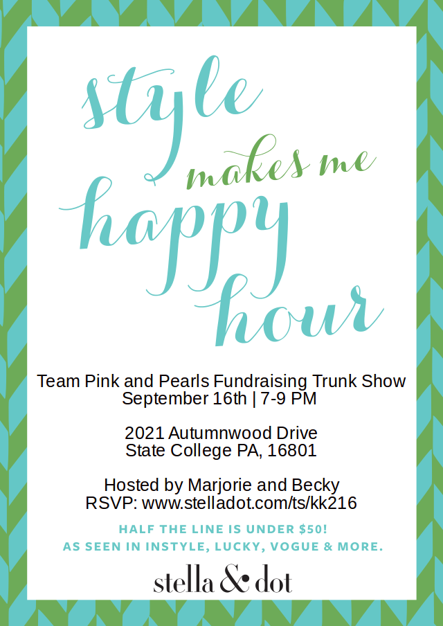 Stella&Dot for Team Pink and Pearls!
