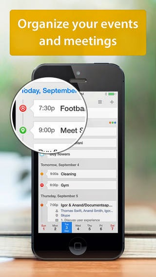 아이폰, 아이패드 앱 Calendars 5